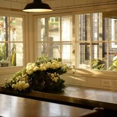 【施工事例】 ご自宅LDKをアンティーク・カフェにリフォーム