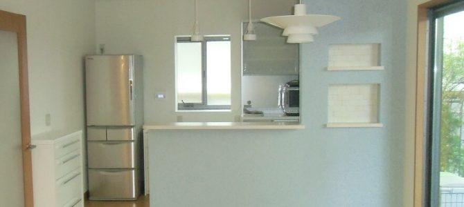 【施工事例】独立型キッチンからお好みの北欧風インテリアのキッチンにリフォーム