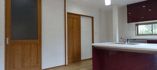 【工事完了!】築50年古民家浴室新設・LDKリフォーム